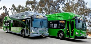 Culver CityBus and Rapid bus