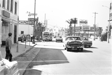 Historic image of Culver City with Culver CityBus